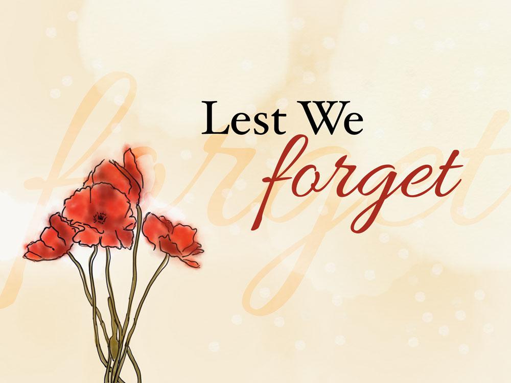 Lest We Forget Nov 10th 2016 Vox Humana Chamber Choir